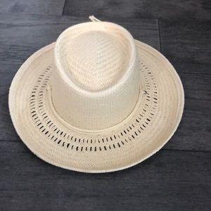Madewell x Biltmore Curved-Brim Straw Hat